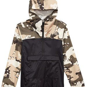 The North Face Fanorak Camo Pullover Anorak Jacket